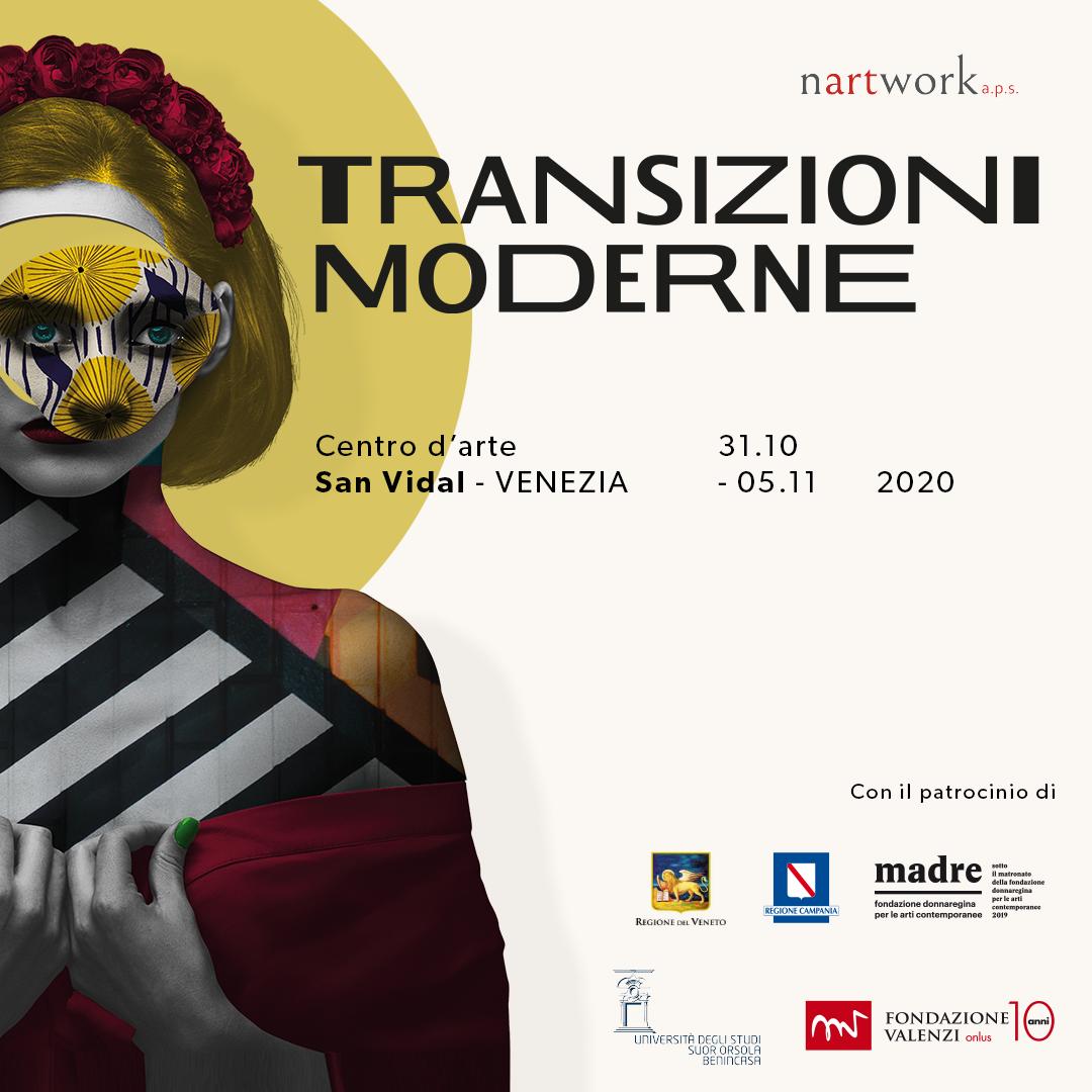 Transizioni moderne - mostra Venezia - Nartwork
